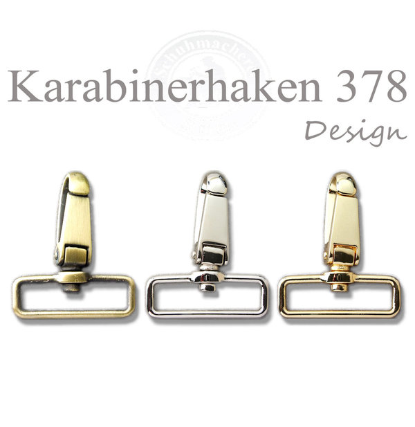 Design Karabinerhaken 378 in 35 & 40 mm