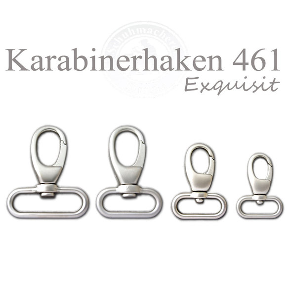 Karabinerhaken 461 exquisit chrom