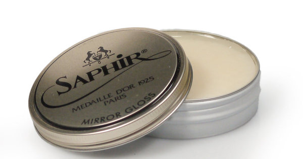 Saphir Mirror Gloss Hartwachspaste 75 ml